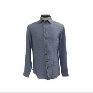 NWT Armani Collezioni Manica Lunga Silk Shirt